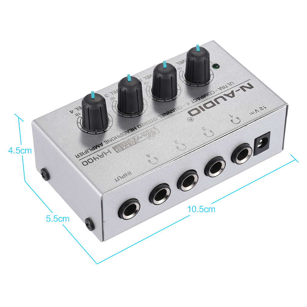 Ha400 Ultra Compact 4 Channels Mini Audio Stereo Headphone Amplifer 1w Amplifier Based Tda2822 We Maintain High Standards Of Excellence And Strive For 100 Customers Satisfactionpositive Feedback Is Very Important To Uspls Contact Us Before You