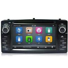 Carr 2 Din DVD GPS de Radio para Toyota Corolla E120 BYD F3 dvd radio navegación estéreo multimedia táctil capacitiva pantalla