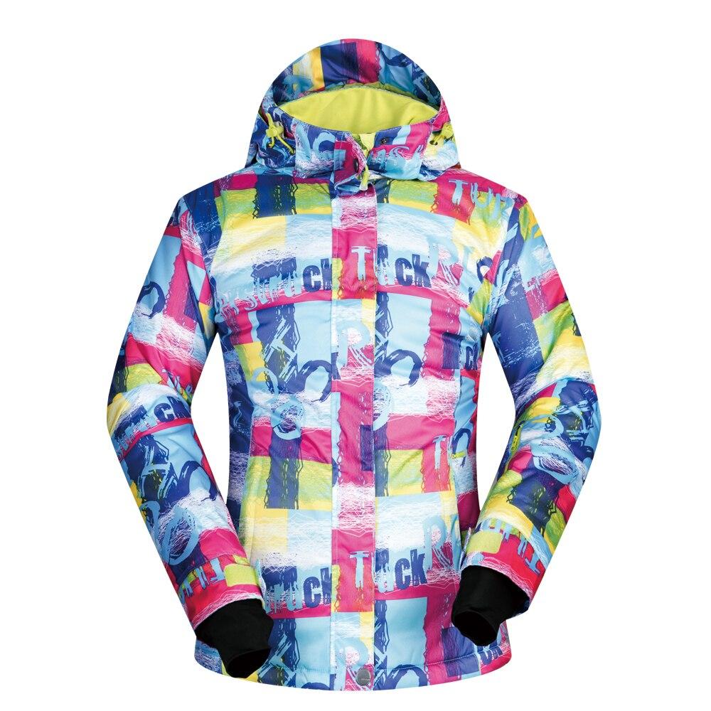 Veste de Ski femme marque hiver nouveauté coupe-vent imperméable respirant chaud neige vêtements de Ski Snowboard femmes veste d'hiver