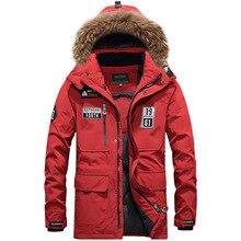Хит, новая брендовая пуховая парка, куртка на белом утином пуху, Casacos de Inverno, уличная теплая куртка с меховым воротником, спортивная Лыжная куртка