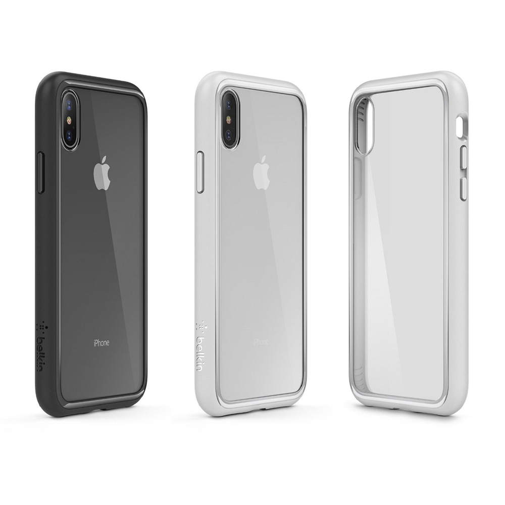 7b9d98358b Belkin Original SheerForce Protective Case for iPhone X Drop Protection  with Retail Packaging F8W868bt-in Fitted Cases from Cellphones &  Telecommunications ...