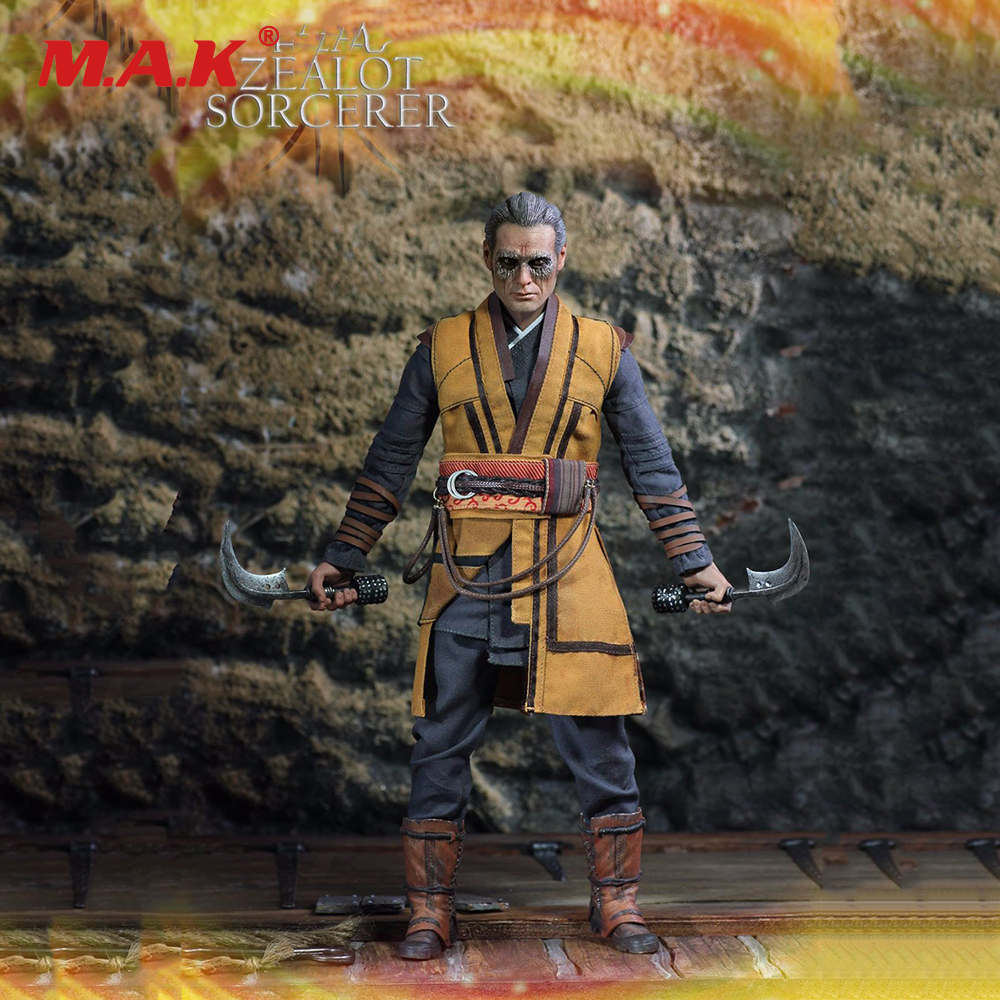 1/6 Zealot Sorcerer Master Collectible Action Figures Model Full Set With Accessories 1 6 scale sa0004 harry potter and the sorcerer s stone hermione granger collectible action figures dolls gifts