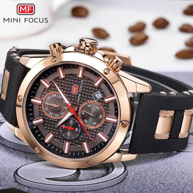Мини фокус Элитный бренд Для мужчин аналоговый цифровой силиконовые Спортивные часы Для Мужчин Армия Военная Униформа часы кварцевые человек часы Relogio Masculino