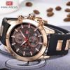 MINI FOCUS Luxury Brand Men Analog Digital Silicone Sports Watches Men S Army Military Watch Quartz