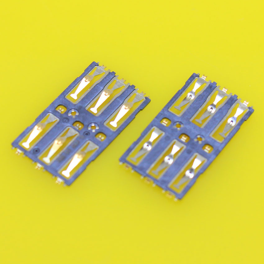 cltgxdd KA-233 New OEM SIM Card Reader Connector Holder Socket Slot replacement for Xiaomi Note Minote
