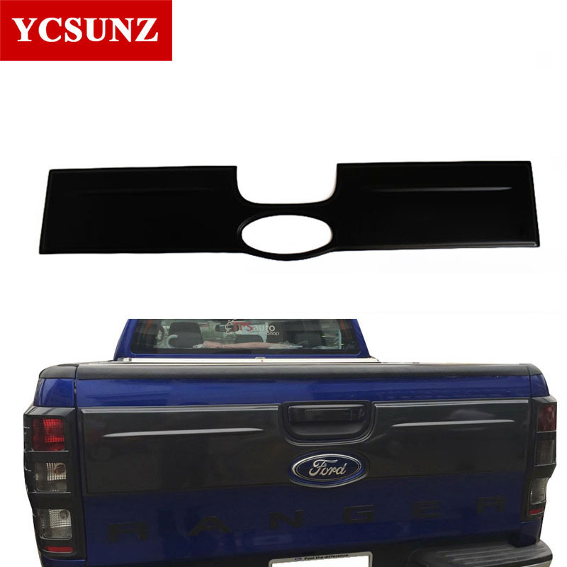 2012-2018 Tail Gate Nudge Cover For Ford Ranger 2018 Accessories Tail Gate Car styling Suitable Ford Ranger 2016 T6 T7 Ycsunz видеокарта msi geforce gtx 1060 6144mb gaming 6g dvi d hdmi 3xdp ret