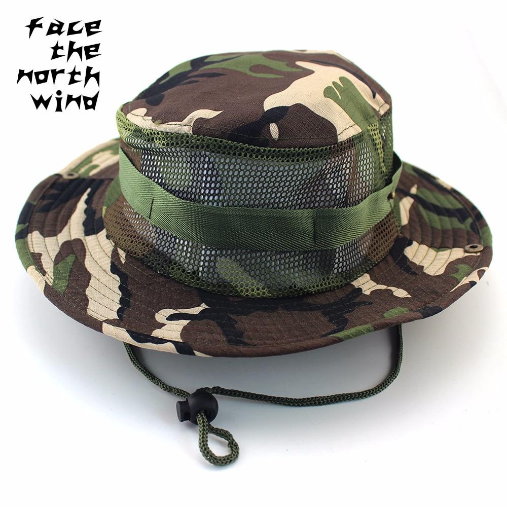 Cappello Pescatore Alpinismo Camuffamento Cappello Jungle Cappello