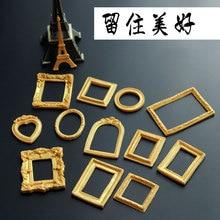 Luyou DIY Зеркало/фоторамка моделирование 3D силиконовая форма для украшения торта Форма для помадки FM1092