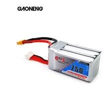 Gaoneng GNB 750mAh 14.8V 4S 80C/160C Lipo battery with XT30 or XT60 Plug for FPV Racing Drone RC Qua