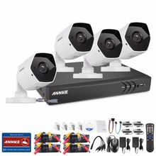 ANNKE 8CH 3MP HD Security Camera System with TVI/CVI/AHD/IP/CVBS 5-in-1 CCTV DVR and IP66 weatherproof Indoor&Outdoor Cameras