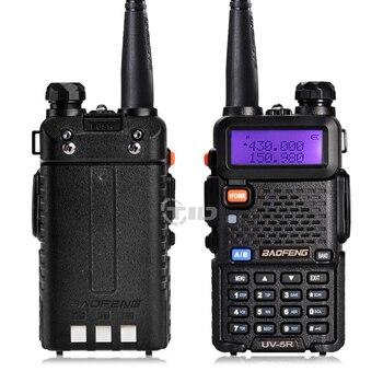 2Pcs BaoFeng UV-5R Walkie Talkie VHF/UHF136-174Mhz&400-520Mhz Dual Band Two way radio Baofeng uv 5r Portable Walkie talkie uv5r 1