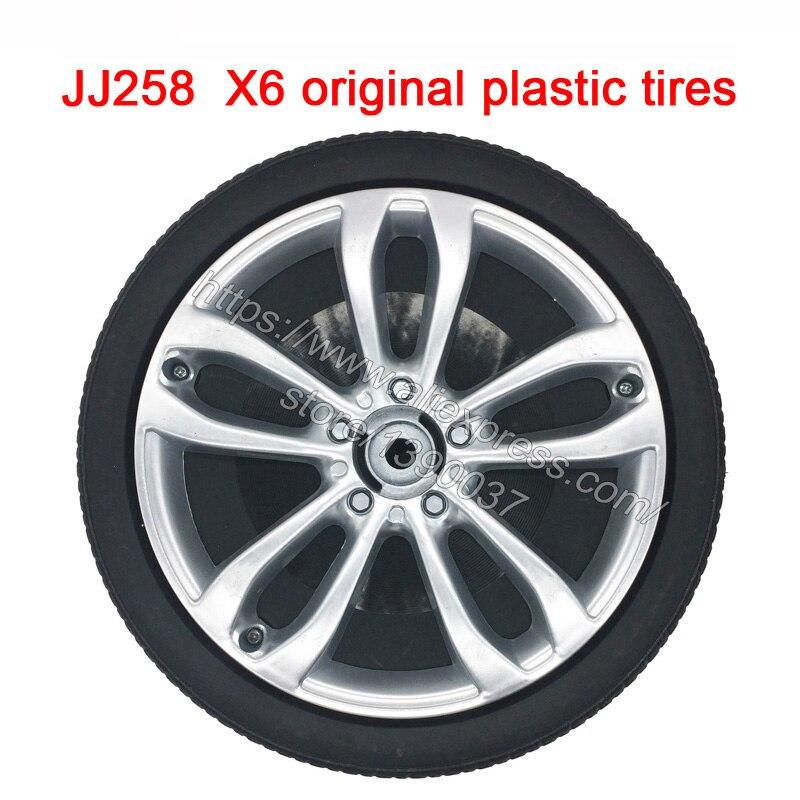 Children electric car JJ258 X6 original plastic tires children s electric remote control car wheel 2