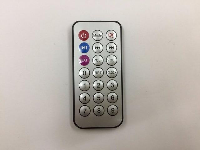 21 מפתחות מרחוק בקר Decording MP3 MP3 לוח IR המרוחק בקרה