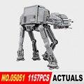 Лепин 05051 новая Звезда Война Серии Транспорт AT-AT Бронированный Робот Строительные Блоки Кирпичи детские Игрушки 75054