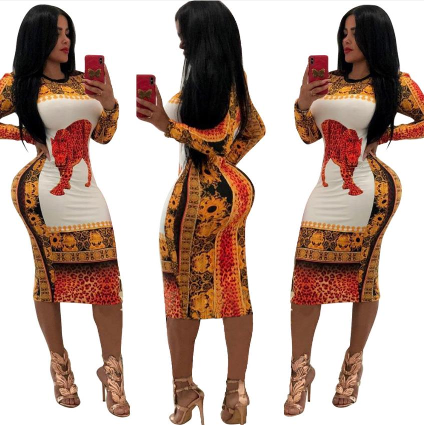 New Arrival African Dashiki Dress For Women Traditional Clothing Sexy Printing Polyester Africa Clothing Women Clothing