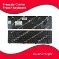 Nuevo teclado francés para hp g72 cq72 fr teclado del ordenador portátil