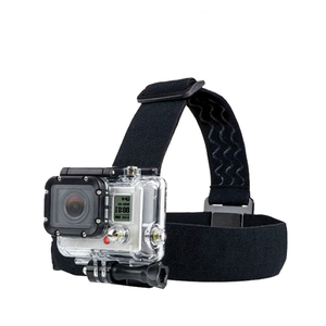 Image 5 - Pour Go Pro montage ceinture réglable sangle de tête bande Session pour Gopro Hero 6/5/4/3 SJCAM Xiaomi Yi 4k Action caméra accessoires