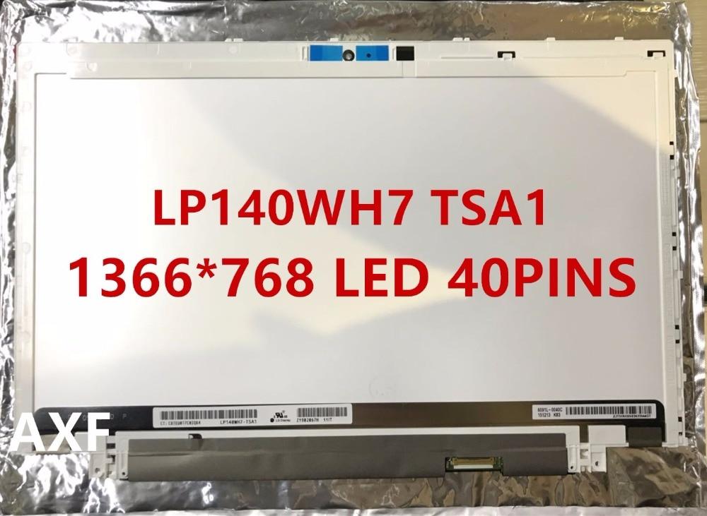 New Original LP140WH7-TSA1 for ACER M5-481G M3-481 X483 LAPTOP SCREEN LP140WH7 TSA1 1366*768 14.0LCD 40pins original a1706 a1708 lcd back cover for macbook pro13 2016 a1706 a1708 laptop replacement