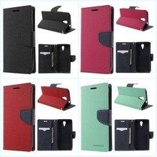 Original Mercury Goospery Fancy Diary Case leather holster Card Wallet Stand for HTC Desire 620G D620h D620u Dual Sim 820mini