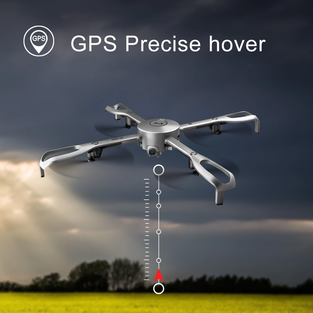 Drones With Camera HD Professional 5G WiFi GPS Positioning Return Flight Foldable Rc Dron 1080P Aerial Photography FPV Drone gps 4