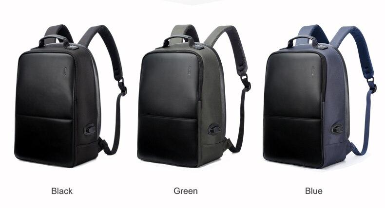 BOPAI USB Charge Plecak Mężczyźni Skórzane dla Travelling Mody Fajne Szkolne Torby Plecak dla Chłopców Anti Theft laptopa plecak 2018