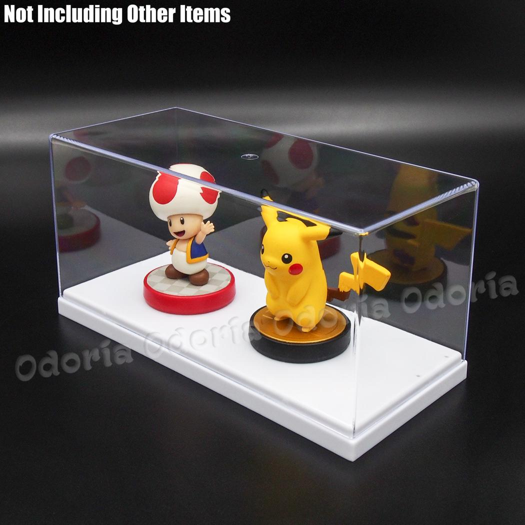 Image 5 - Odoria 19.5x8.5x8.5 cm Acrylic Display Case 2 Step Box Perspex ShowCase Dustproof For Action Figure Model Cars Collectiblescase casedisplay showcasedisplay box case -
