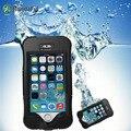 Para iphone 5s acessórios telefone de natação subaquática caso agua para iphone 5s caso à prova d' água ao ar livre capas protetoras se 5c