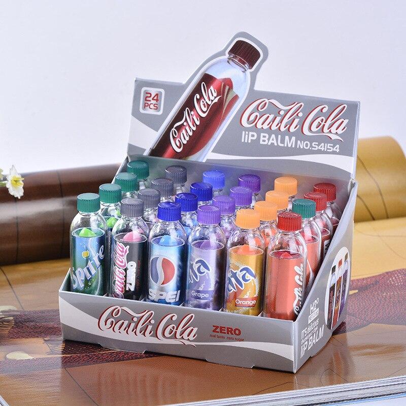 Оптовая продажа милый бальзам для губ красота Бальзам для губ Mosit Batom бутылка питательная помада уход за макияжем бальзам 6 цветов в наличии ...