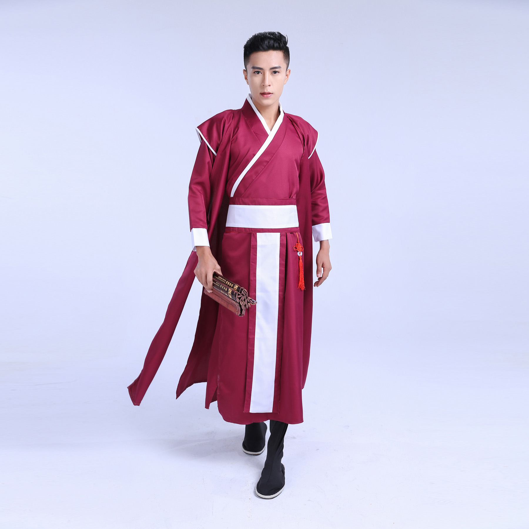 2017 Ancient Chinese Costume Men Stage Performance Outfit ...