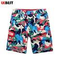 Lkbest nuevo verano de los hombres playa pantalones cortos de algodón de camuflaje militar pantalones cortos bañadores marca algodón de los hombres bañadores shorts n1472