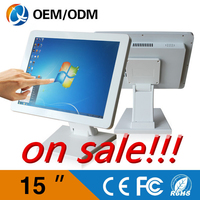 Desktop Computer 15inch Intel J1900 2.0GHz Touch Screen 1024x768 All In One PC With 32G SDD 2GB RAM USB/Wifi/HDMI/RS232/VGA