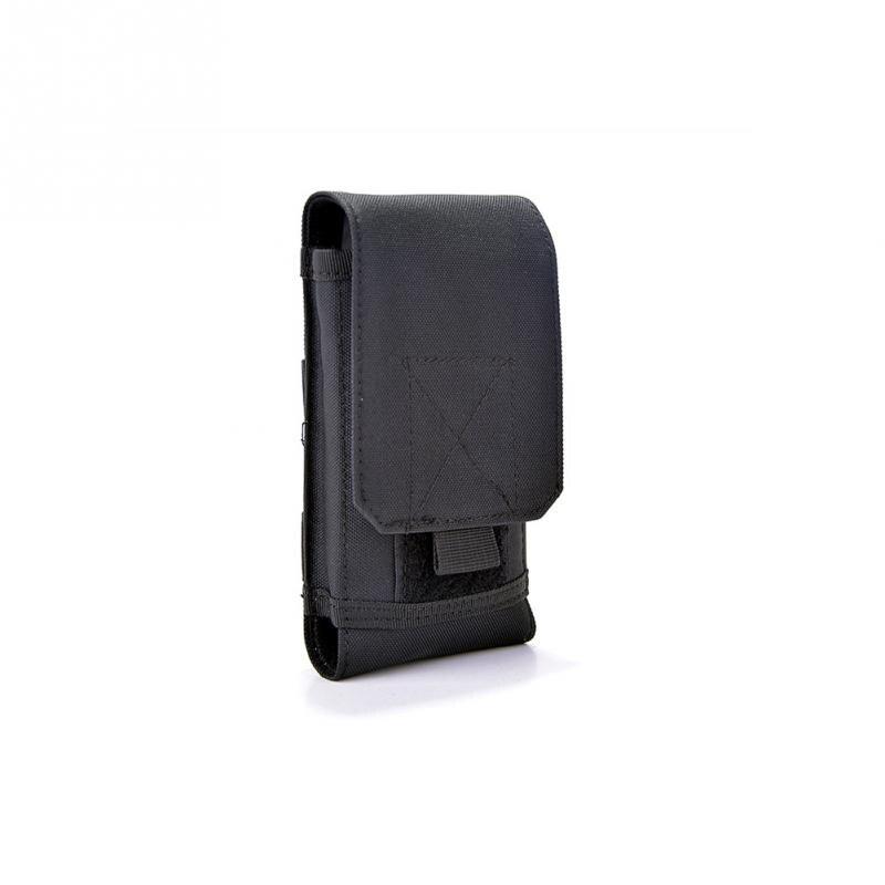 Leather Compact Pockets Waist Bag sunshines Retro Universal Design Cell Phone Case Belt Bag Purse Waist Belt Loop Cellphone Phone Protection Case Bag Holster