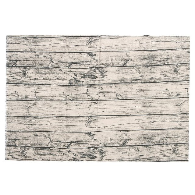 kiwarm retro wood grain bark cotton linen fabric for home tablecloth table cover sewing patchwork crafts
