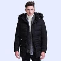 Winter Jacket Parka Men warm Coat Male Parkas Military Anorak Mens Windproof waterproof Jackets Fur Fleece Collar Jaqueta M 3XL