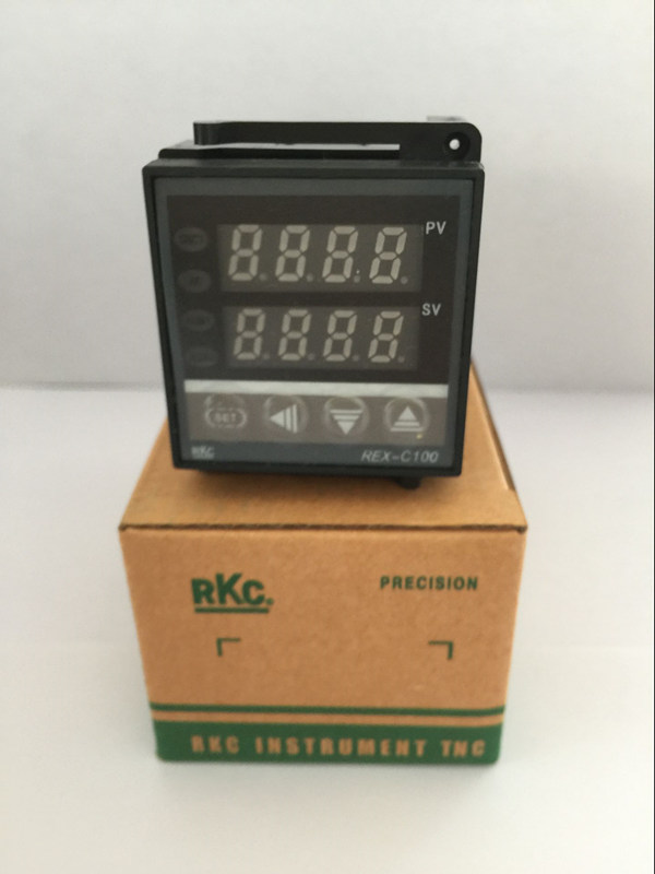 PID Digital Temperature Control Controller Thermocouple <font><b>REX</b></font>-<font><b>C100FK02</b></font>-<font><b>V*AN</b></font> SSR OUTPUT image