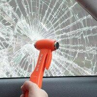 Đa chức năng an toàn khẩn cấp hammer với Cắt chức năng vành đai cuộc sống hammer xe thoát tool miễn phí vận chuyển