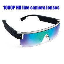 Multi-função 1080 p HD câmera de vídeo óculos de tirar fotos de vídeo  inteligente Embutido WIFI e BT função de Toque para ao viv. 04b5f838d7