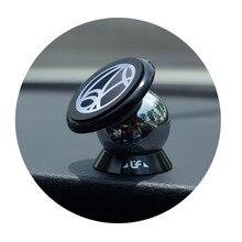 360 Градусов Магнитный Приборной Панели Автомобилей Мобильного Телефона Держатель Магнит Rack Steelie Car Kit Смартфон Стенд для iPhone для Samsung