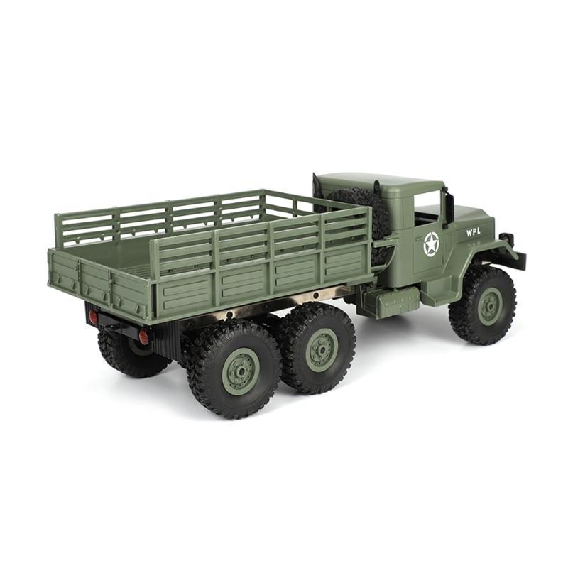 WPL B16 RC Kits de camion militaire 4WD 1/16 tout-terrain voiture sur chenilles jouet garçons enfants bricolage