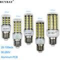 Mais novo SMD5736 LEVOU bulbo milho luz E27 E14 G9 GU10 B22 3 w 4 w 5 w 7 w 10 w 12 w lâmpada led Branco/branco quente 90-260 V SMD5730 conduziu lampada