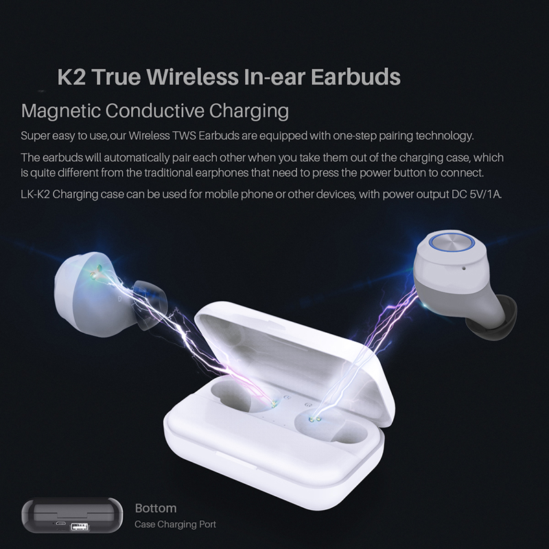 Image 5 - 5.0+EDR True wireless In ear Earbuds bluetooth earphone-in Bluetooth Earphones & Headphones from Consumer Electronics