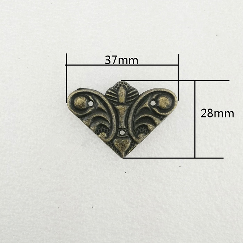 цены на Bronze Filigree Alloy Flower Wraps Cabochon,Ancient Triangle Corner,Flatback Butterfly Embellishments Scrapbooking,37mm,40Pcs в интернет-магазинах