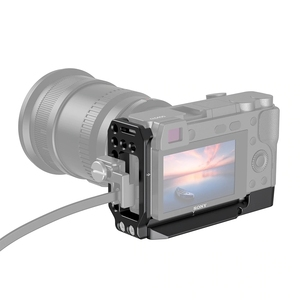 Image 2 - SmallRig A6400 L צלחת A6300 L סוגר עבור Sony A6400 ו A6300 תכונה עם QR שחרור מהיר Arca סגנון צלחת APL2331