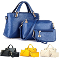 2017 Women Handbag Shoulder Bags Totes Messenger Bag Fashion Design Party Gift set Purse Leather Gift Free Shipping N775