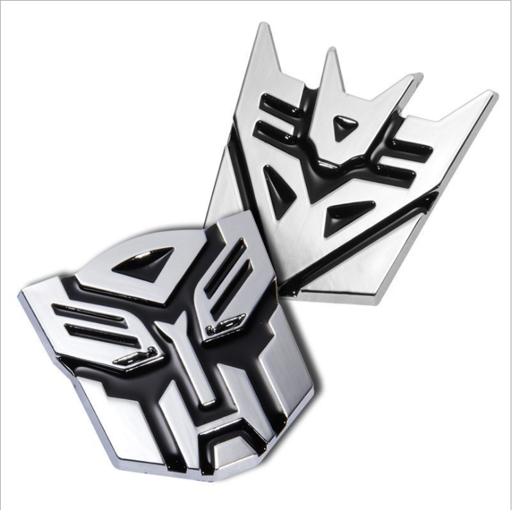 VEELVEE Car-Styling Car Sticker Metal Transformers For Cadillac ATS BLS CTS EXT STS SLS SLR SRX XLR XTS Escalade Car Styling