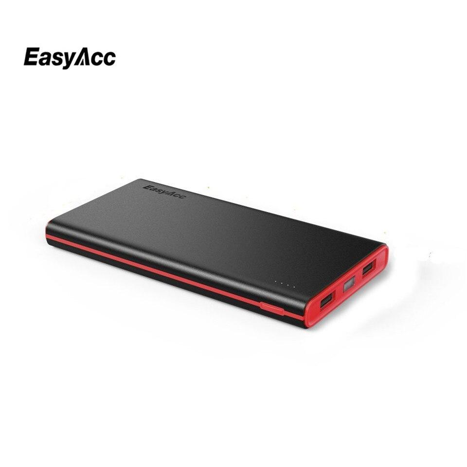 imágenes para EasyAcc 10000 mAh Banco de la Energía Paquete Externo de La Batería (2.4A Inteligente Salida) Clásico Cargador Portátil para el iphone Samsung Tablets