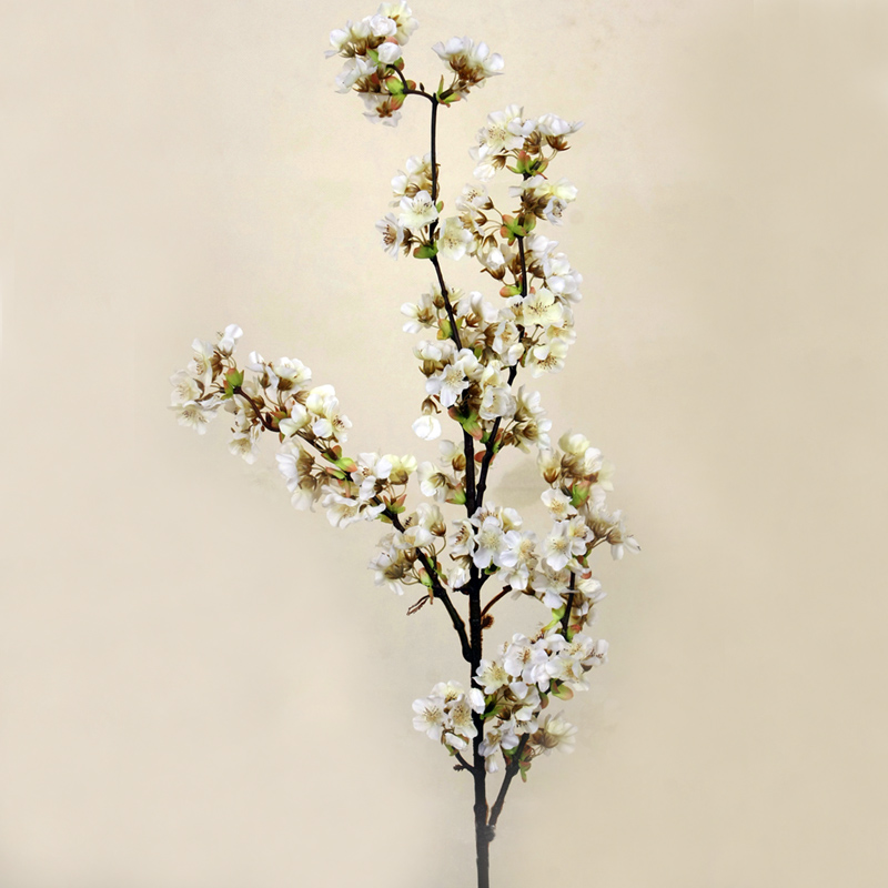 5 個装飾シルク桜人工花の結婚式の装飾さくら偽花センターピースの装飾桃の花  グループ上の ホーム&ガーデン からの 造花 & ドライフラワー の中 2
