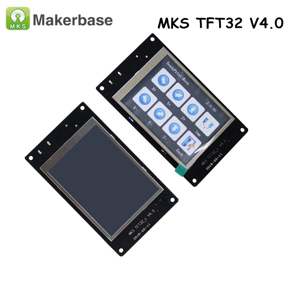 Nueva 3D impresora MKS TFT32 V4.0 controlador inteligente pantalla 3,2