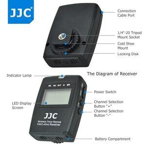 Image 3 - JJC มัลติฟังก์ชั่นไร้สาย LCD TIMER รีโมทคอนโทรลสำหรับ Canon EOS 850D 5DS R 1DC 1D 5D 7DM3 7DM2 6D 5D2 5D3 เช่น RS 80N3 TC 80N3