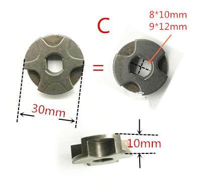 Gear sprockets drive  Chainsaw Chain Drive Sprocket 221526-1 For MAKITA UC4041A UC3041A UC3541A UC4020A UC3520A UC250D UC250 chain brake handle unit for poulan partner chainsaw 350 351 35cc chain sprocket clutch cover chainsaw parts